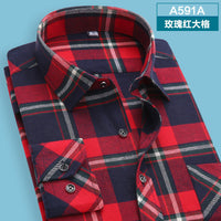 10 minus A591 / XS autumn  winter Men's shirts tops fashion loose Leisure long-sleeved plaid shirt with flannel casual plus size office Style autumn  winter Men's shirts tops fashion loose Leisure long-sleeved plaid shirt with flannel casual plus size office Style autumn  winter Men's shirts tops fashion loose Leisure long-sleeved plaid shirt with flannel casual plus size office Style A591 / XS