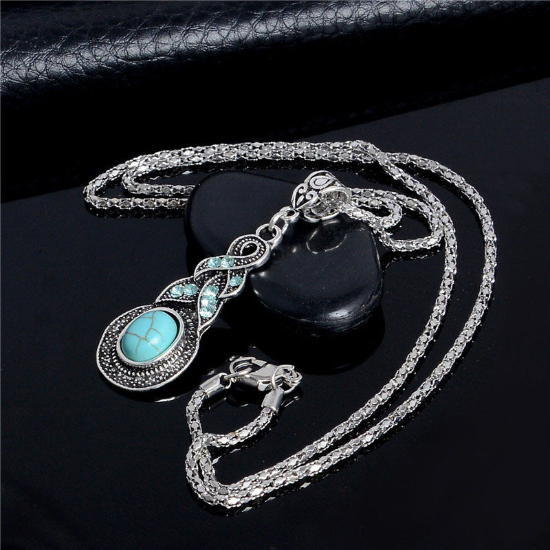 10 MINUS Accessories Women Vintage Necklace Alloy Crystal Turquoise Pendant Long Chain Necklace Sweater Accessories TL221 FREE SHIPPING Women Vintage Necklace Alloy Crystal Turquoise Pendant Long Chain Necklace Sweater Accessories TL221 FREE SHIPPING Women Vintage Necklace Alloy Crystal Turquoise Pendant Long Chain Necklace Sweater Accessories TL221 FREE SHIPPING