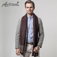 [AETRENDS] 2016 New Arrival Winter Scarfs Men's Business Plaid Scarf Cashmere Scarves Z-3455 - 10MINUS: Online Shopping Destination with High-Quality