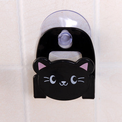 Cute Cartoon Soap Sponge Suction Hooks Drying Holder Home Kitchen Bathroom Set Rack Sucker Wall Suction Hook Kitchen Dish Cloth - Best price in 10minus