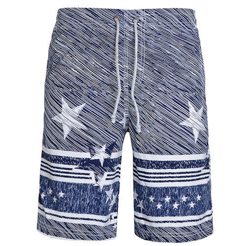 2016 Men Beach Shorts Casual  Underpants Beach pants Men's Leisure Shorts Male Quick-drying men loose printed boardshorts - 10MINUS: Online Shopping Destination with High-Quality