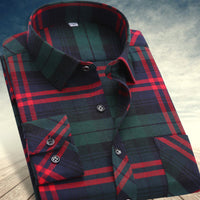10 minus autumn  winter Men's shirts tops fashion loose Leisure long-sleeved plaid shirt with flannel casual plus size office Style autumn  winter Men's shirts tops fashion loose Leisure long-sleeved plaid shirt with flannel casual plus size office Style autumn  winter Men's shirts tops fashion loose Leisure long-sleeved plaid shirt with flannel casual plus size office Style