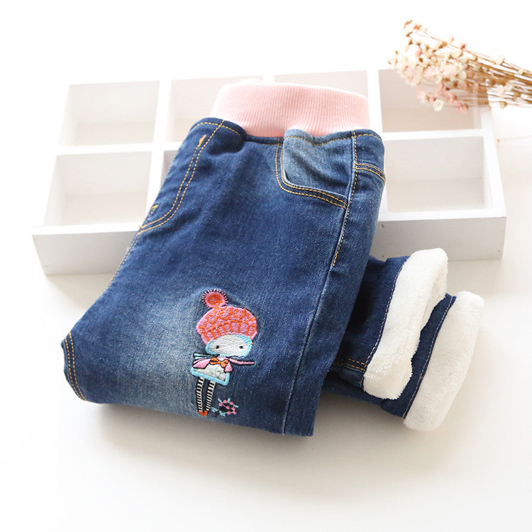 aefa9772eff4 10-minus-autumn-winter-new-arrival-baby-girls-wam-denim-jeans-girls -thick-jeans-kids-winter-trousers-child-warm-long-pants-autumn-winter-new -arrival-baby- ...