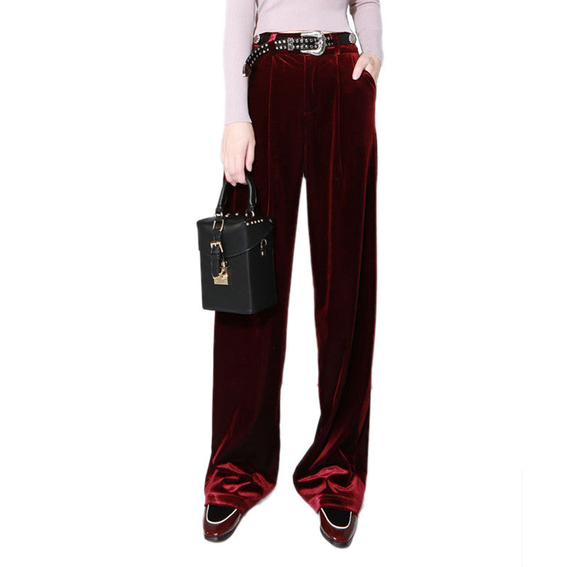 a0db0b2333c6 10-minus-autumn-winter-womens-velvet-wide-leg-pants-women-new -high-waist-velvet-trousers-fashion-clothing-autumn-winter -womens-velvet-wide-leg-pants-women- ...