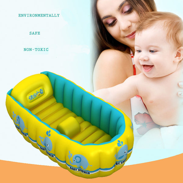 Baby bathtub Soft Touch And Good protection Tube  Baby Swimming Pool - Best price in 10minus