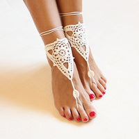 10 MINUS Beach wedding ivory crochet wedding barefoot Sandals,Nude shoes, Foot jewelry,Victorian Lace Bridal anklet,beach accessories Beach wedding ivory crochet wedding barefoot Sandals,Nude shoes, Foot jewelry,Victorian Lace Bridal anklet,beach accessories Beach wedding ivory crochet wedding barefoot Sandals,Nude shoes, Foot jewelry,Victorian Lace Bridal anklet,beach accessories