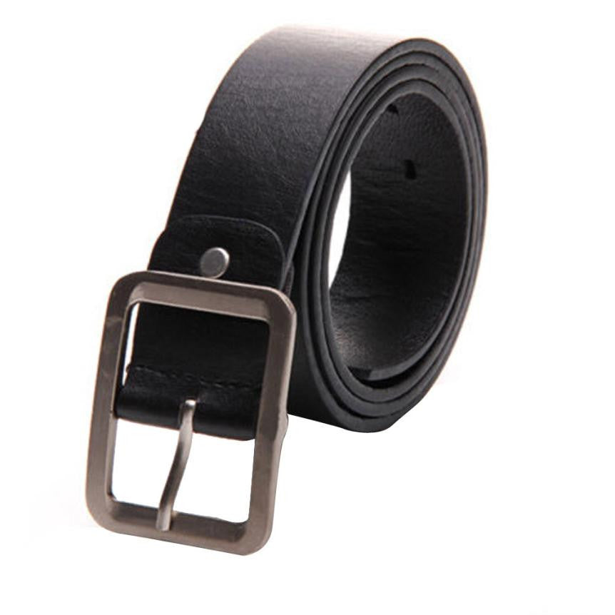 Dec31 Amazing 1 Pcs Mens Male Casul Buckle PU Leather Belt High Quality New - 10MINUS: Online Shopping Destination with High-Quality