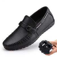 Hollow Genuine Leather Summer Shoes Men Flats Loafers Breathable Casual Chaussure Homme Real Leather Men Moccasins Shoes - Best price in 10minus