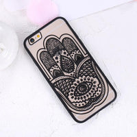 KISSCASE Retro Dreamcatcher Pattern Case For iPhone 7 6 6s Plus Ultra Thin Transparent Flower Cover For iPhone 6 6s Plus 7 Capa - Best price in 10minus