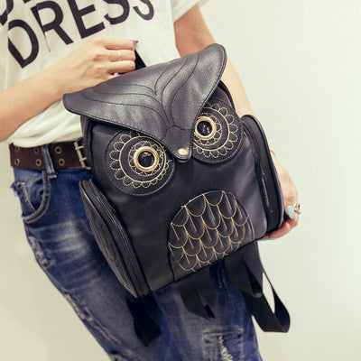 10 minus Black / China Fashion Cute Owl Backpack Women Cartoon School Bags For Teenagers Girls PU Leather Women Backpack Brands Mochila Sac A Dos Fashion Cute Owl Backpack Women Cartoon School Bags For Teenagers Girls PU Leather Women Backpack Brands Mochila Sac A Dos Fashion Cute Owl Backpack Women Cartoon School Bags For Teenagers Girls PU Leather Women Backpack Brands Mochila Sac A Dos Black / China