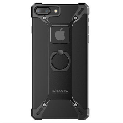 For iphone 7 Capa Handy Phone Stand Cover Original Nillkin Metal Tough Back Cover Ring Shape Holder for iphone7 Case 4.7 inch - Best price in 10minus