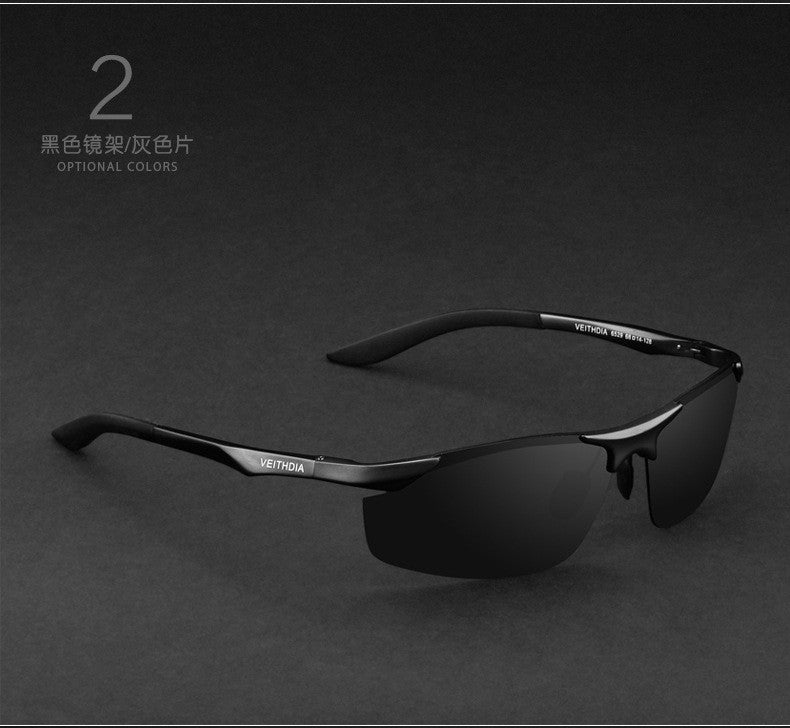 VEITHDIA Aluminum Magnesium Brand Designer Polarized Sunglasses Men Glasses Driving Glasses Summer 2017 Eyewear Accessories 6529 - 10MINUS: Online Shopping Destination with High-Quality