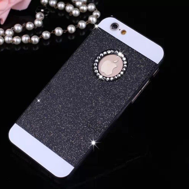 luxury Rhinestone case for apple iphone 5s glitter pink PC cover mobile phone accessories by noble quality original i5 5 se i - Best price in 10minus