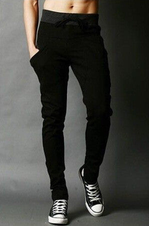2016 Men's Sweatpants Joggers Hip Hop Loose Crotch Pants Casual Slim Fit Cotton Harem Pants Skinny Trousers Dropshipping - 10MINUS: Online Shopping Destination with High-Quality