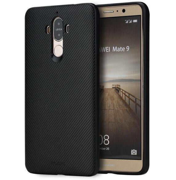 ROCK Textured Series Phone Case for Huawei Mate 9 Case, Grained Wooden soft cover Case for Mate 9 Back Cover Case - 10MINUS: Online Shopping Destination with High-Quality