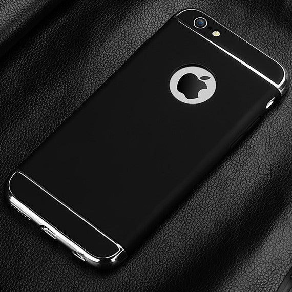 Luxury for iphone 7 Plus Case Back Armor for Apple iphone 7 5 6 5s 6S Plus Cases Hard Thin Cover Logo Hole Phone Accessories - Best price in 10minus