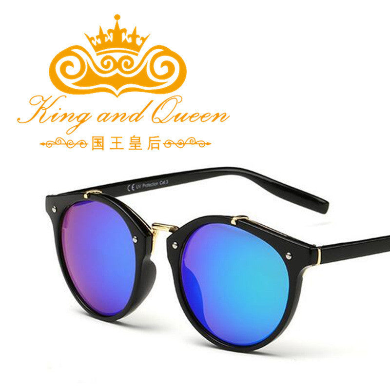 2017 New Trends Classic Women Round Sunglasses Gradient Female Famous Brand Designer Retro Vintage Sun Glasses for Men UV400 - Best price in 10minus