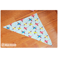 2016 Baby Girl Boy Kids Cartoon Bib Pattern Toddler Babies Waterproof Triangle Cotton Saliva Towel infant Dribble Bibs PWD07 - 10MINUS: Online Shopping Destination with High-Quality