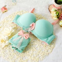 Bra and knickers In different colors exciting and attractive to women underwear push up - Best price in 10minus