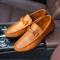 New 2016 High Quality Loafers Men Shoes Flats Fashion Men's Casual Shoes Soft Leather Slip on Brand Boat Shoes ZH505 - 10MINUS: Online Shopping Destination with High-Quality