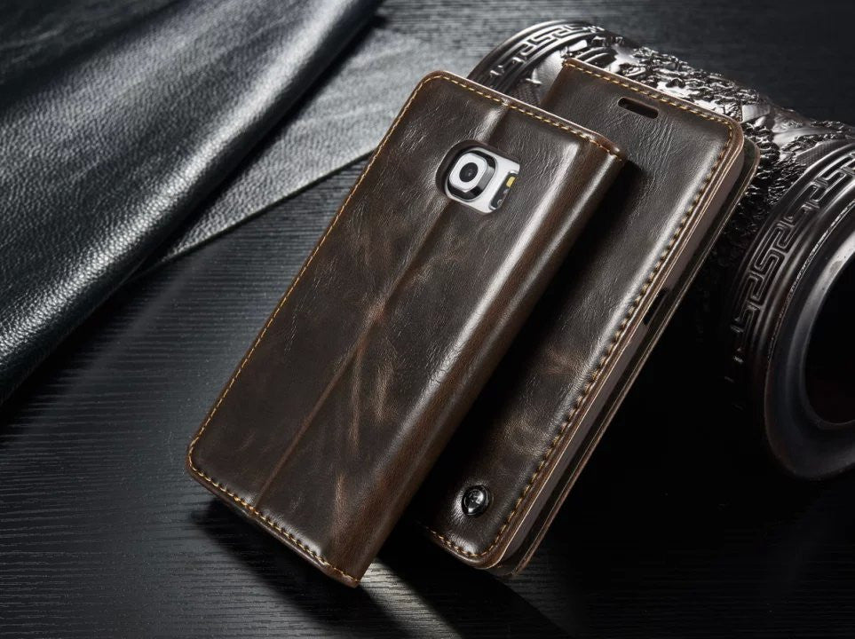 10 minus brown / For Samsung S7 Original Phone Cases For Samsung Galaxy S7/ S7 Edge Fundas Luxury Genuine Leather Magnet Auto Flip Wallet Case Cover Accessories Original Phone Cases For Samsung Galaxy S7/ S7 Edge Fundas Luxury Genuine Leather Magnet Auto Flip Wallet Case Cover Accessories Original Phone Cases For Samsung Galaxy S7/ S7 Edge Fundas Luxury Genuine Leather Magnet Auto Flip Wallet Case Cover Accessories brown / For Samsung S7