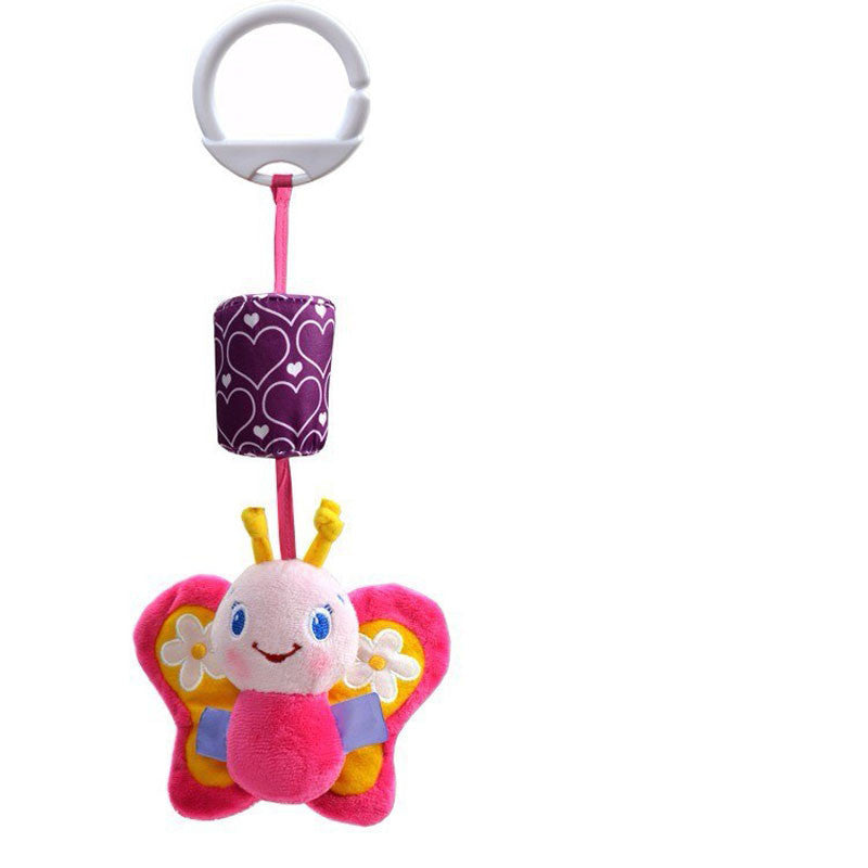 Baby Toys Crib Stroller Toy 0-12 Months Plush Kawii Cartoon Newborn Hanging Baby Rattle Ring Bell Soft Playpen Bed Bell Pram - 10MINUS: Online Shopping Destination with High-Quality