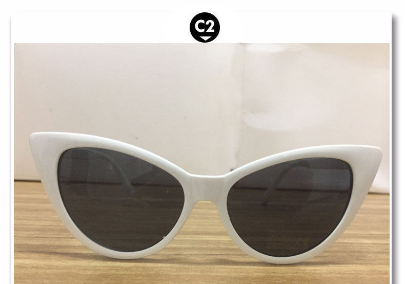 2017 New Fashion Sunglasses Women Brand Designer Cat Eye Glasses Points Woman Retro Vintage Sun glasses  Oculos De Sol Feminino - 10MINUS: Online Shopping Destination with High-Quality