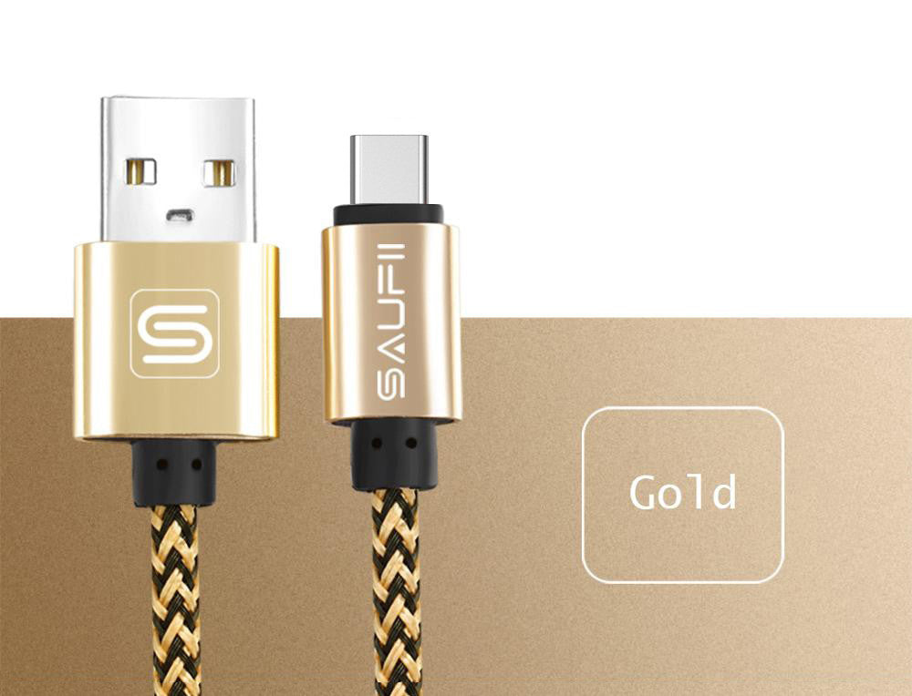 10 MINUS China / Gold / 1m Original SAUFII USB Type C cable for Macbook OnePlus 2 3 type-c charger wire ZUK Z1 2 USB type c cables fast Charging letv Original SAUFII USB Type C cable for Macbook OnePlus 2 3 type-c charger wire ZUK Z1 2 USB type c cables fast Charging letv Original SAUFII USB Type C cable for Macbook OnePlus 2 3 type-c charger wire ZUK Z1 2 USB type c cables fast Charging letv China / Gold / 1m