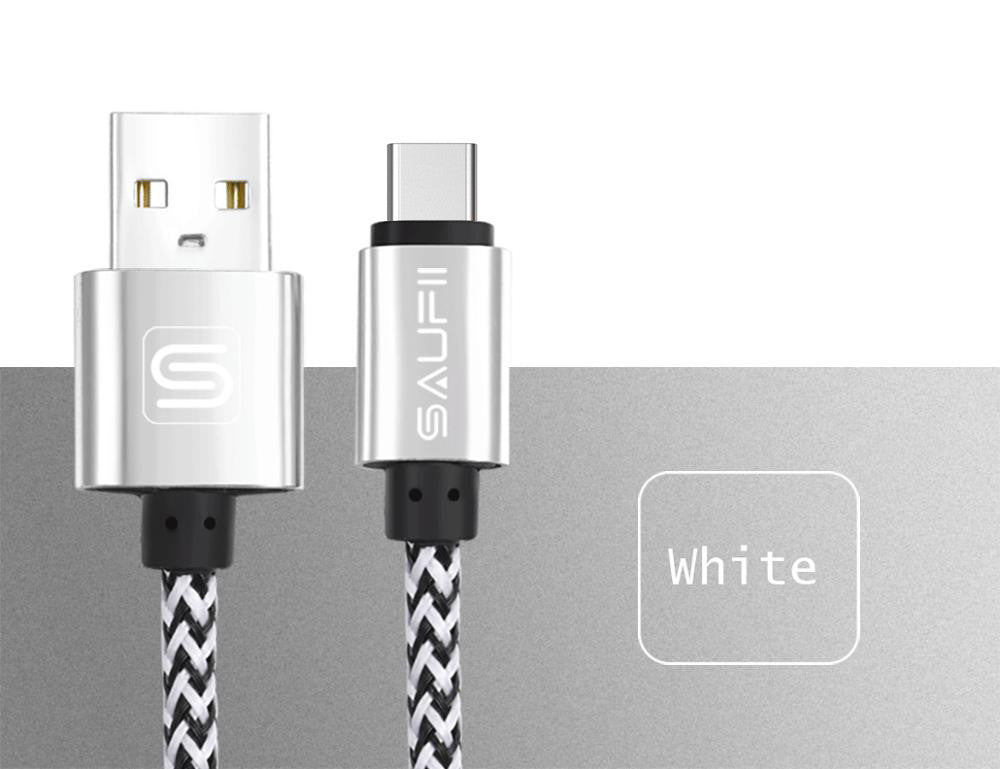 10 MINUS China / Silver / 1m Original SAUFII USB Type C cable for Macbook OnePlus 2 3 type-c charger wire ZUK Z1 2 USB type c cables fast Charging letv Original SAUFII USB Type C cable for Macbook OnePlus 2 3 type-c charger wire ZUK Z1 2 USB type c cables fast Charging letv Original SAUFII USB Type C cable for Macbook OnePlus 2 3 type-c charger wire ZUK Z1 2 USB type c cables fast Charging letv China / Silver / 1m