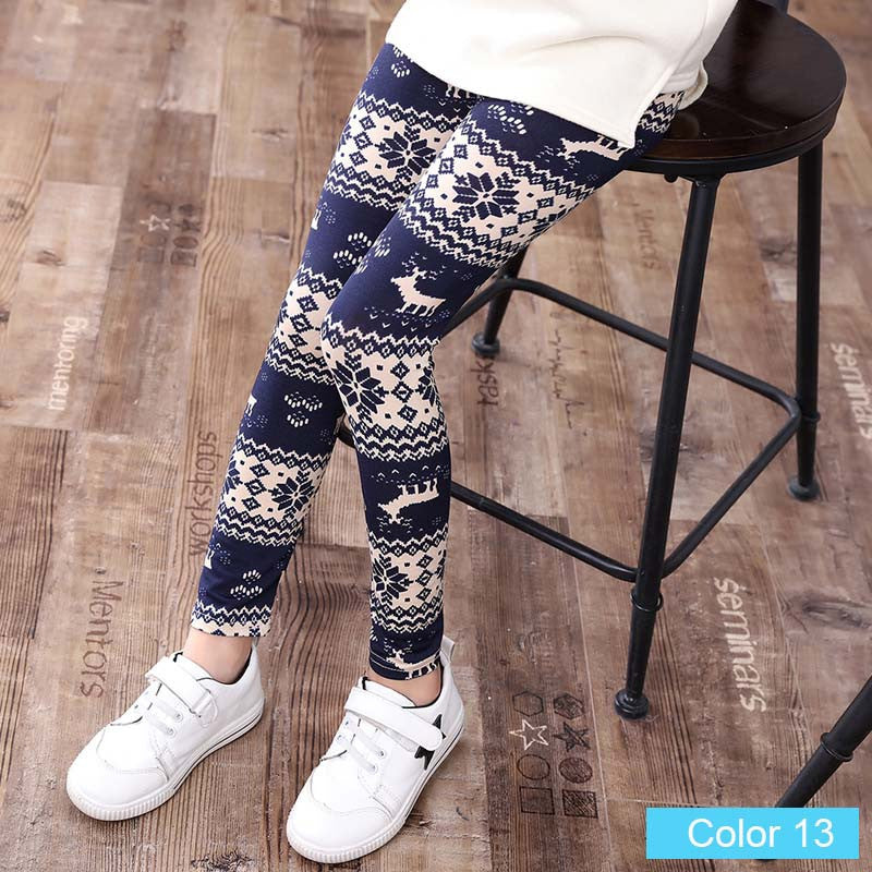 girl pants new arrive printing Flower girls leggings Toddler Classic Leggings  2-14Ybaby girls leggings kids leggings - 10MINUS: Online Shopping Destination with High-Quality