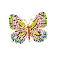 10 MINUS colorful Jewelry Luxury Brooch Gold Plated with Colorful Rhinestone Lovely Butterfly Brooches for Lady Accessories Jewelry Luxury Brooch Gold Plated with Colorful Rhinestone Lovely Butterfly Brooches for Lady Accessories Jewelry Luxury Brooch Gold Plated with Colorful Rhinestone Lovely Butterfly Brooches for Lady Accessories colorful