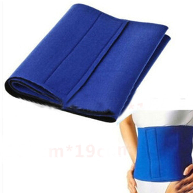 1 Piece New 2016 Fat Cellulite Slimming Exercise Waist Sweat Belt Body Wrap Tonsee Dropship - 10MINUS: Online Shopping Destination with High-Quality