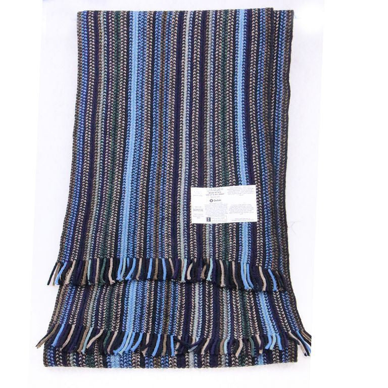 2015 Fall Brand New Arrival Business Black Blue Long Knit Thick Warm Wholesale Bufandas Cotton Striped Mens Scarf Fashion Winter - 10MINUS: Online Shopping Destination with High-Quality