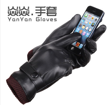 2016 new male gloves touch screen gloves men driving gloves slip-resistant male autumn and winter gloves g486 - 10MINUS: Online Shopping Destination with High-Quality