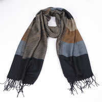 free ship 2015 double fine striped Scarves men winter new brand Fashion Plaid Scarf for Men cozy warm long scarf cotton Tassel - 10MINUS: Online Shopping Destination with High-Quality
