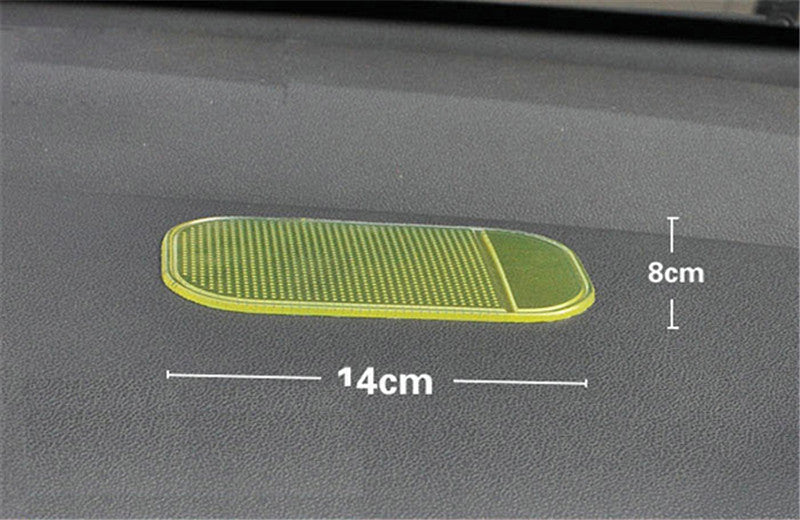 Desk Anti-slip Sticky Pad Mat in Car for Gadgets Accessory car phone shelf antislip mat gps mp3 cell holder Car Accessories - Best price in 10minus