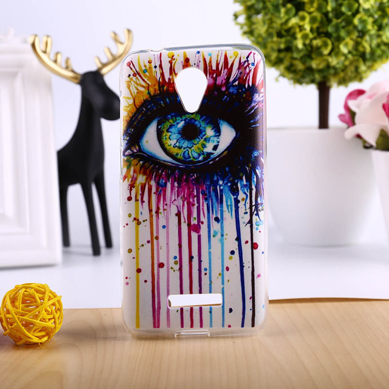 DIY Painted Soft TPU Phone Cover For Micromax Canvas Spark Q380 Cases Top Quality Elegant Mobile Phone Accessories - 10MINUS: Online Shopping Destination with High-Quality