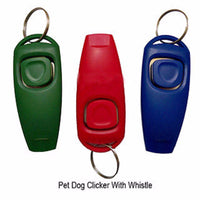 Dog Clicker & Whistle- Training, Obedience, Pet Trainer Click Puppy With Guide #265 - 10MINUS: Online Shopping Destination with High-Quality
