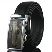 WOWTIGER Belt 2016 Hot Fashion Cowhide Leather men belt Designer Luxury Famous High quality Automatic buckle men Belts for men - 10MINUS: Online Shopping Destination with High-Quality