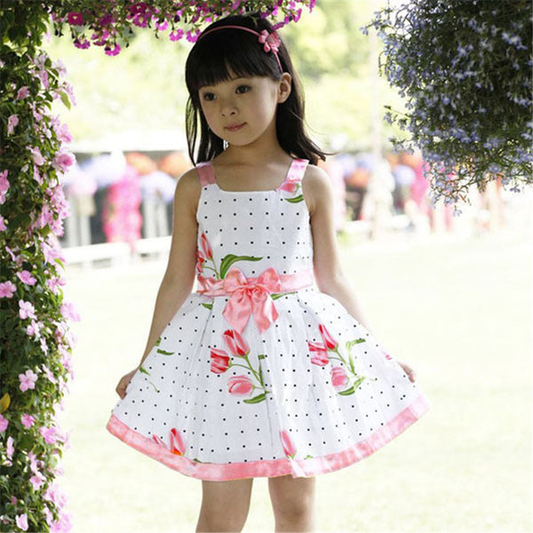 fashion summer Girls dresses Modern models high quality - Best price in 10minus