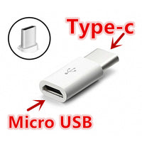 FFFAS USB Cable Mini Micro USB Female to Type c Male 3.1 Type-C Cable Adapter Charger Data Sync USB C Converter for Xiaomi Letv - Best price in 10minus