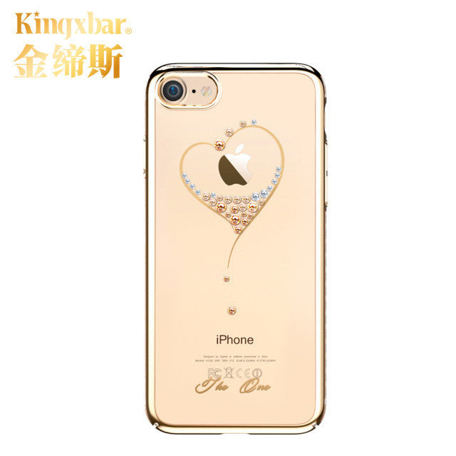 10 MINUS gold 2 / For iPhone 7 Original Kingxbar High Quality Electroplated PC With Crystals from Swarovski Rhinestone Case Cover For Apple iPhone 7 / 7 Plus Original Kingxbar High Quality Electroplated PC With Crystals from Swarovski Rhinestone Case Cover For Apple iPhone 7 / 7 Plus Original Kingxbar High Quality Electroplated PC With Crystals from Swarovski Rhinestone Case Cover For Apple iPhone 7 / 7 Plus gold 2 / For iPhone 7