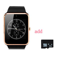 Bluetooth Smartwatch GT08 Smart Watch phone with SIM TF Card Camera Sports Fitness - 10MINUS: Online Shopping Destination with High-Quality