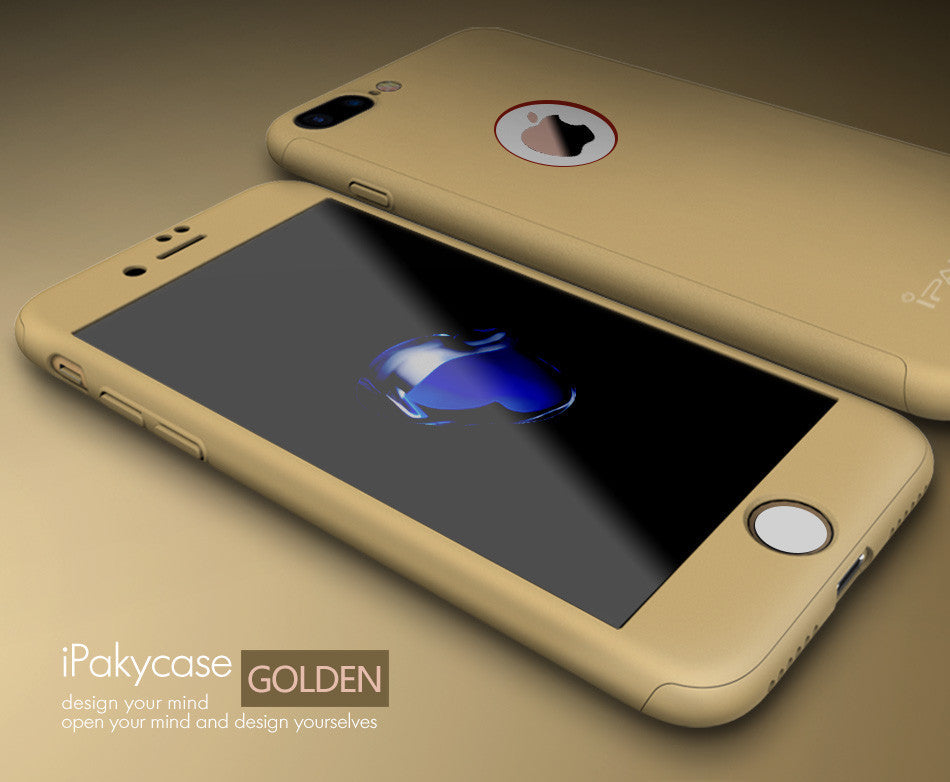 10 MINUS Gold / For iphone 7 IPaky Hard Matte Cases For iPhone 7 Case iPhone 7 plus Case Plus 360 Degree Full Cover Plastic Tempered Glass Phone Cases IPaky Hard Matte Cases For iPhone 7 Case iPhone 7 plus Case Plus 360 Degree Full Cover Plastic Tempered Glass Phone Cases IPaky Hard Matte Cases For iPhone 7 Case iPhone 7 plus Case Plus 360 Degree Full Cover Plastic Tempered Glass Phone Cases Gold / For iphone 7