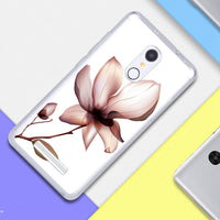 Floral Case For Xiaomi Redmi Note 3 Pro Special Edition Case 152.5mm Elsa Pattern Silicone Cover Soft Plastic TPU Fundas Case - Best price in 10minus