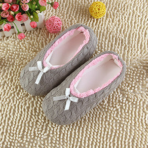 Warm Soft Sole Women Indoor Floor Slippers/Shoes White Black Woolen Slippers Flannel Flat Home Slippers 7 Color XP30 - Best price in 10minus