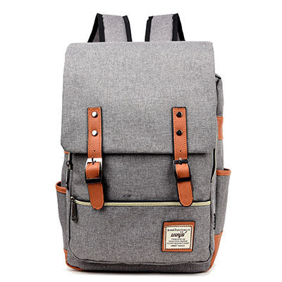 Vintage Women Canvas Backpacks For Teenage Girls School Bags Large High Quality Mochilas Escolares New Fashion Men Backpack - Best price in 10minus