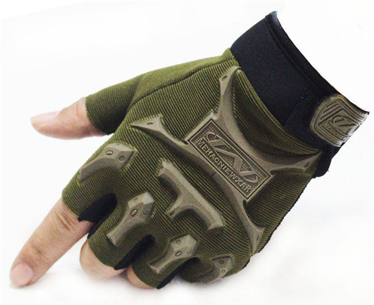 2016 MECHANIX Super General Edition Army Military Tactical Gloves Outdoor Half Finger Motocycel Bicycle Mittens Free Shipping - 10MINUS: Online Shopping Destination with High-Quality