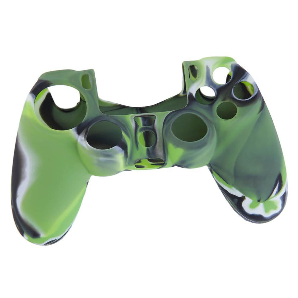 Cool Camouflage Soft Silicone Cover Case Protection Skin For Sony Playstation 4 PS4 for Dualshock 4 Controller Console Decals - 10MINUS: Online Shopping Destination with High-Quality