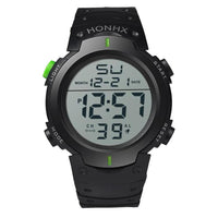 10 minus Green Fashion New Brand HONHX Water Resistant Watch Men's Boy LCD Digital Stopwatch Date Rubber Sport Wrist Watch Fashion New Brand HONHX Water Resistant Watch Men's Boy LCD Digital Stopwatch Date Rubber Sport Wrist Watch Fashion New Brand HONHX Water Resistant Watch Men's Boy LCD Digital Stopwatch Date Rubber Sport Wrist Watch Green